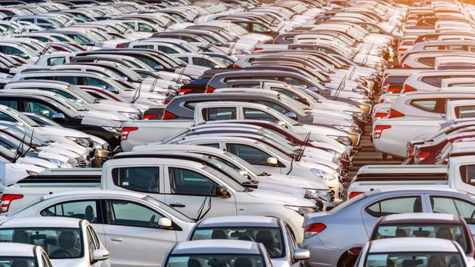 row-new-cars-port