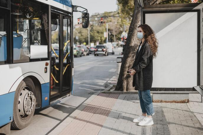 side-view-woman-waiting-bus